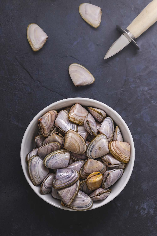 Personal Chef Clams Byron Bay